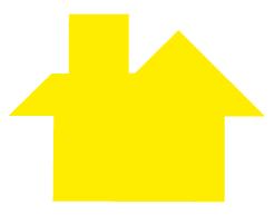 TANGRAM maison jaune