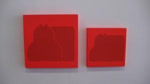 Janik Coat, grand et petit, exposition au Square des artistes, automne 2013