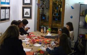 Atelier enfants au Square des artistes