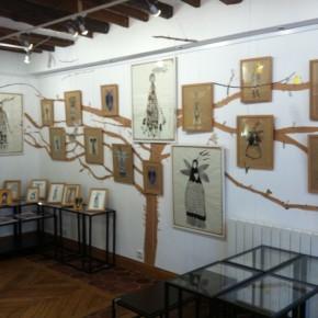 L'abre de la vie d'Aurélia Fronty au Square des artistes, vue d'ensemble
