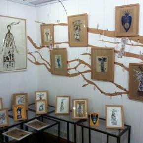 L'abre de la vie d'Aurélia Fronty au Square des artistes, les branches