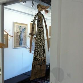 L'abre de la vie d'Aurélia Fronty au Square des artistes, mobile