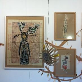 L'abre de la vie d'Aurélia Fronty au Square des artistes, racines