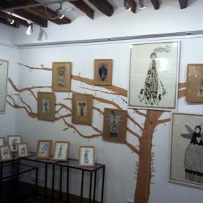 L'abre de la vie d'Aurélia Fronty au Square des artistes, au coeur
