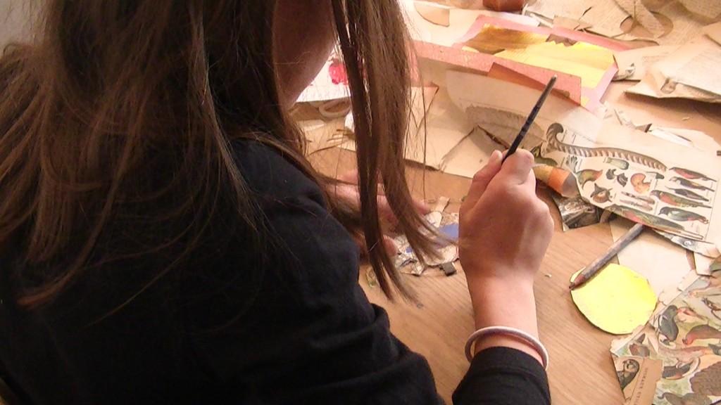 Atelier Aurélia Fronty au Square des artistes 8