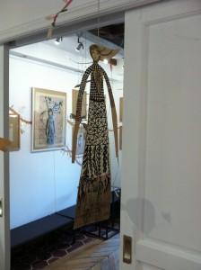 Mobile présenté au Square des artistes dans le cadre de l'exposition L'arbre de la vie, d'Aurélia Fronty