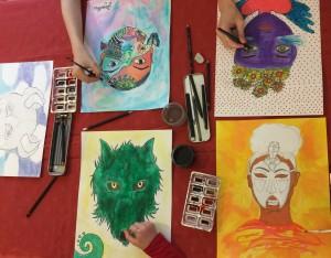 Histoire de l'art par la création au Square des artistes