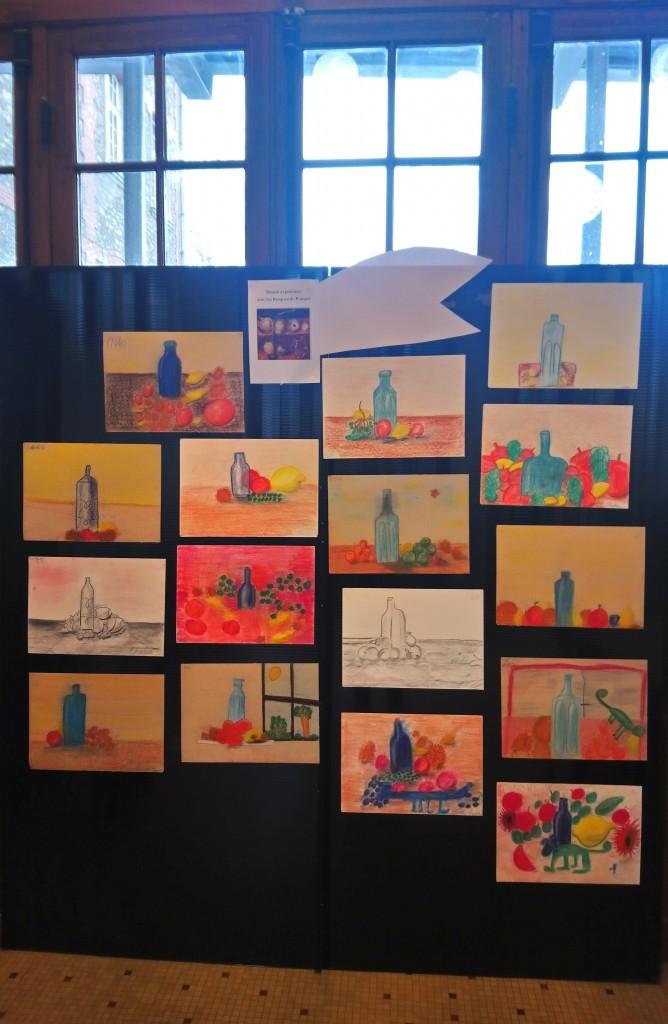 Vernissage Square des artistes école partenaire