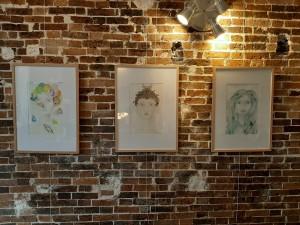 Oeuvres Joanna Peiron Square des artistes hiver 2019-2020 2
